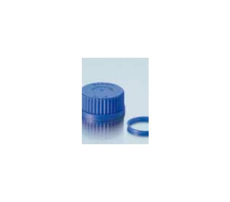 פקק הברגה GL45 פ.פ כחול